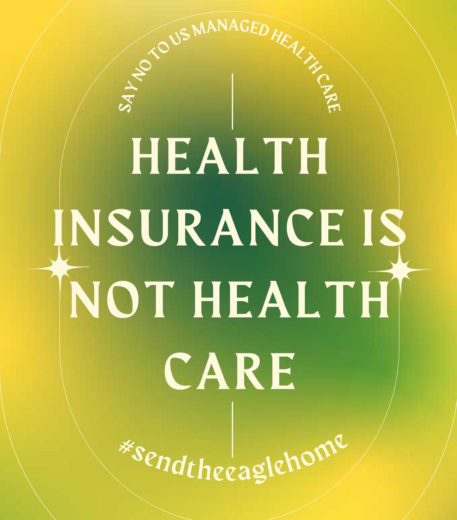 US Style Managed Care Proposal by Cigna & Honeysuckle NIB