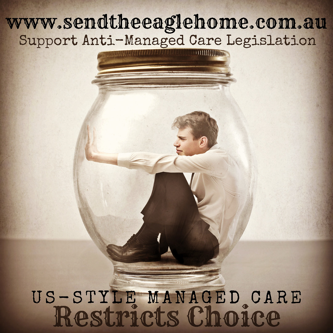 US-Style Managed Care Risk to Australia's Healthcare System